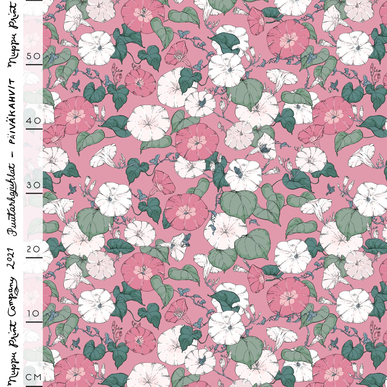 Päiväkahvit luomutrikoo, roosa