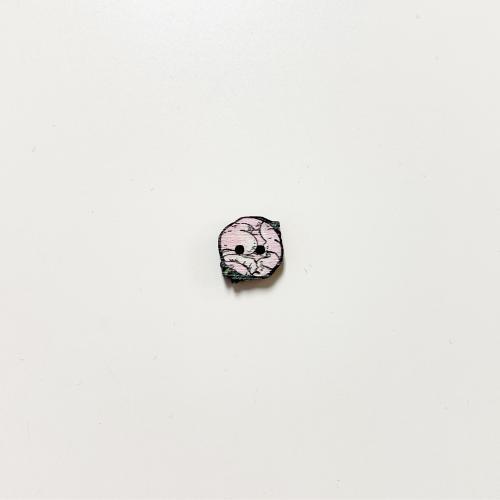 Pioni nappi pieni, vaaleanpunainen