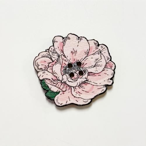 Juhannusruusu nappi iso, roosa