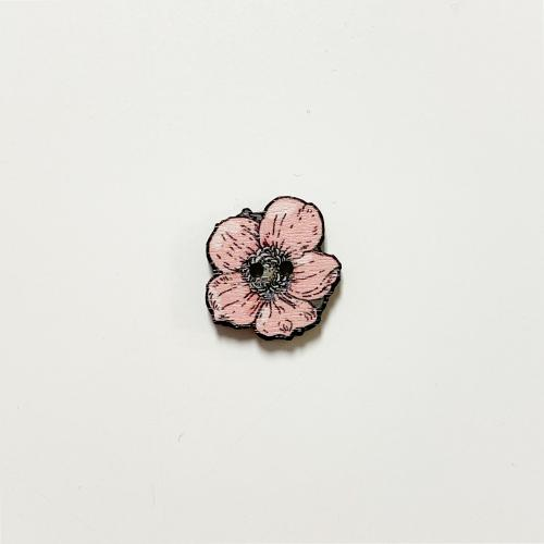 Syysvuokko nappi keskikokoinen, roosa