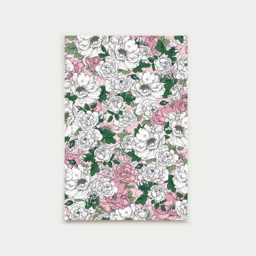 Juhannustanssit postikortti, ruusu