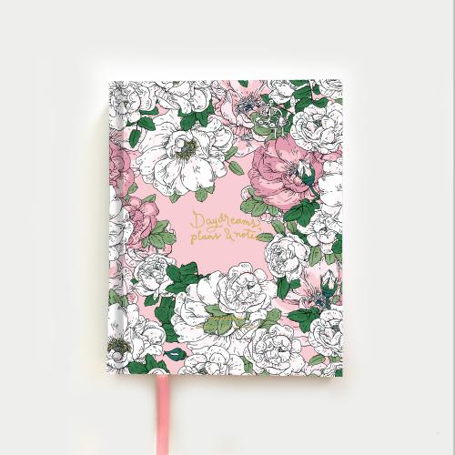 Juhannustanssit muistikirja, ruusu