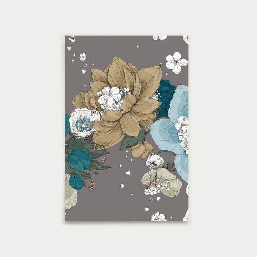 Sydäntalvi postikortti, laasti-syksy