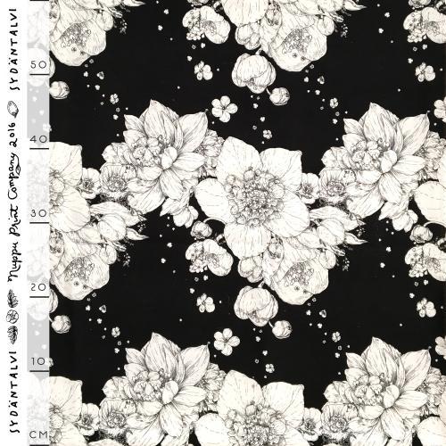 Syysmuutto softshell, black and white