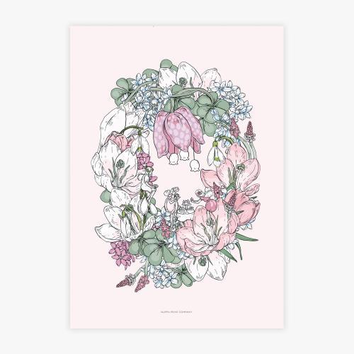 Keijujen kevätjuhla printti, A3