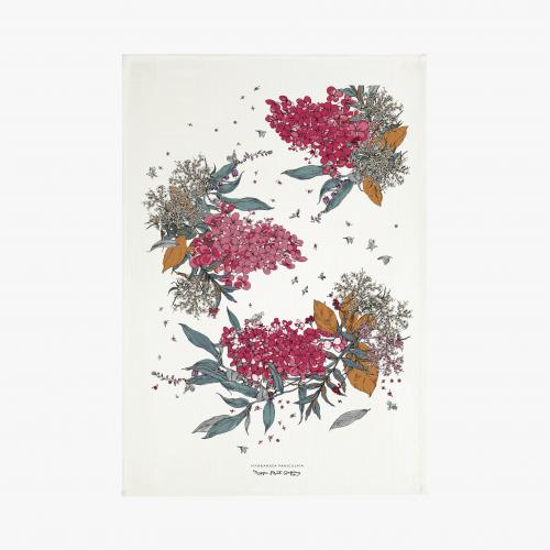 Syysmuutto tea towel, autumn