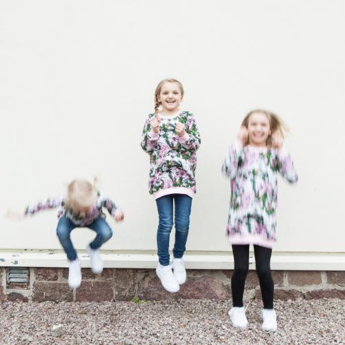 Kuukkeli-tunika lapselle PDF-kaava (fin)