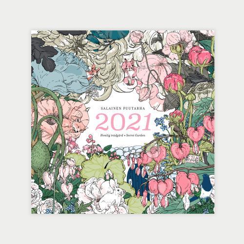 Salainen puutarha -seinäkalenteri II-laatu