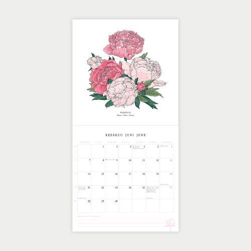 Salainen puutarha -seinäkalenteri
