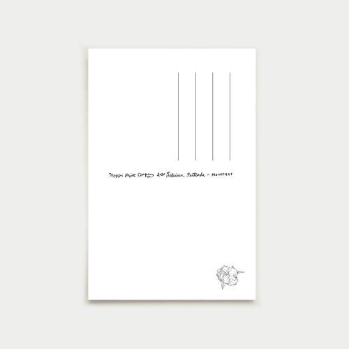 Pionipilvi postikortti, nude