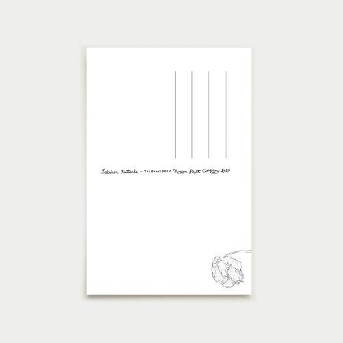 Tulppaanipolku vykort, pastel