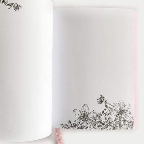 Tulppaanipolku muistikirja, camo