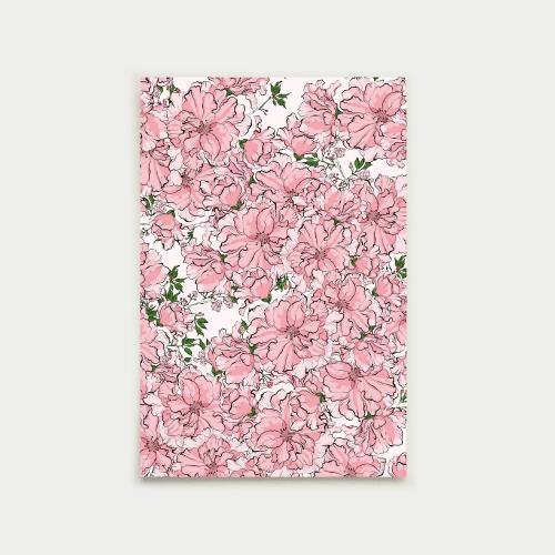 Kirsikkajuhla postikortti, nude