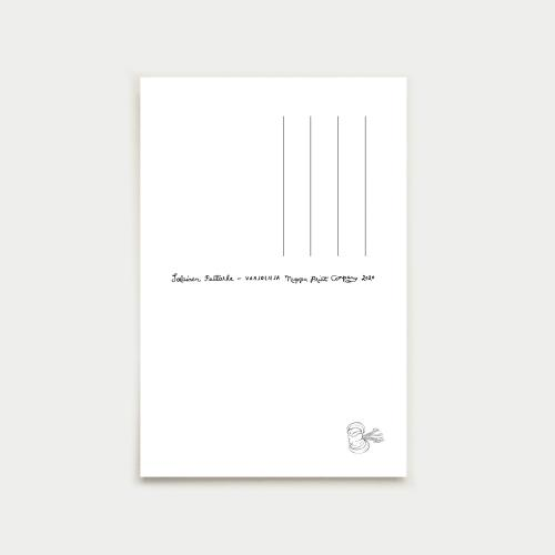 Varjolilja postikortti, yönkuningatar