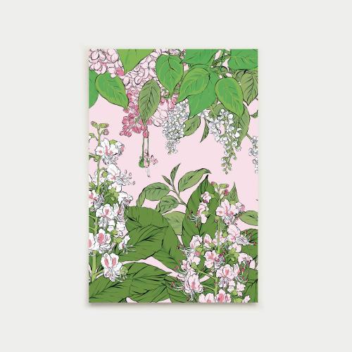 Vapaapäivä postikortti, pinkki