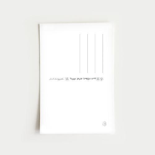 Metsäseppele vykort, nude