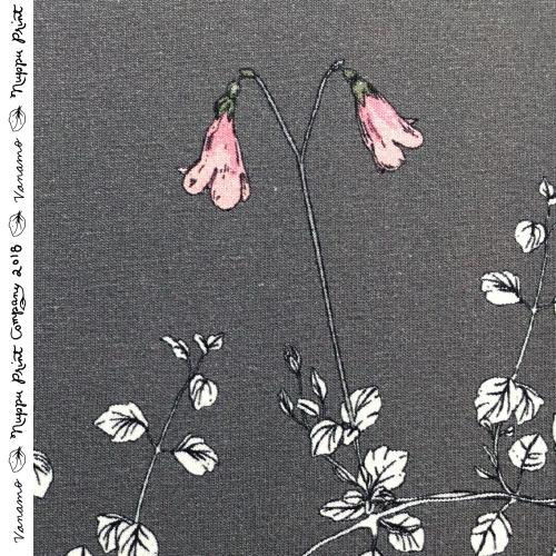Vanamo luomutrikoo, kyyhkynharmaa