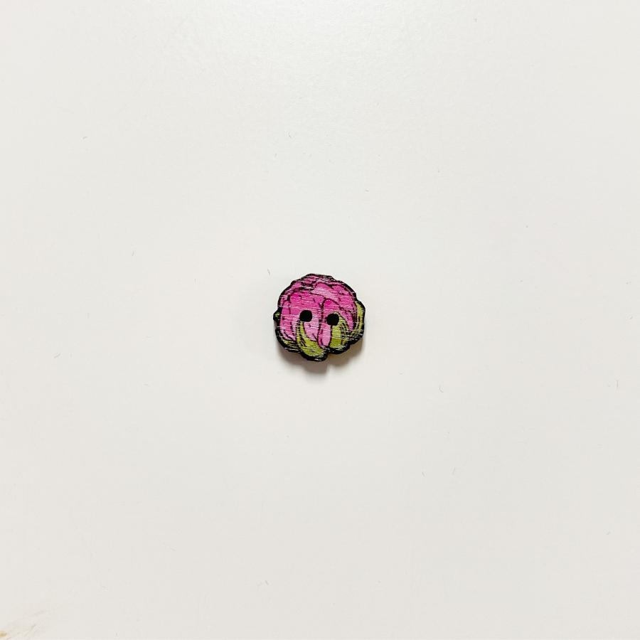 Jaloleinikki nappi pieni, pinkki