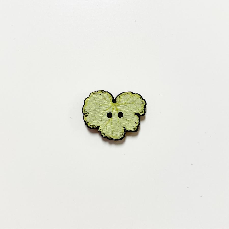 Keijunkukka nappi keskikokoinen, vaaleanvihreä