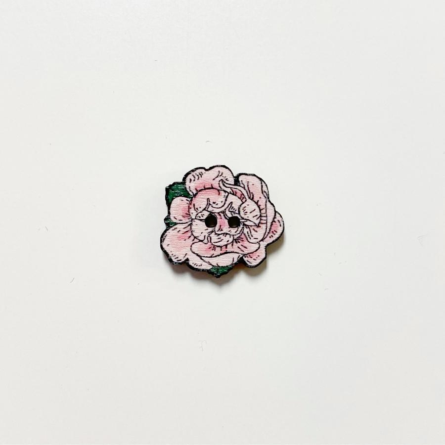 Juhannusruusu nappi keskikokoinen, roosa