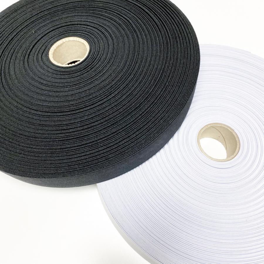 Kotimainen kuminauha 3 cm, musta