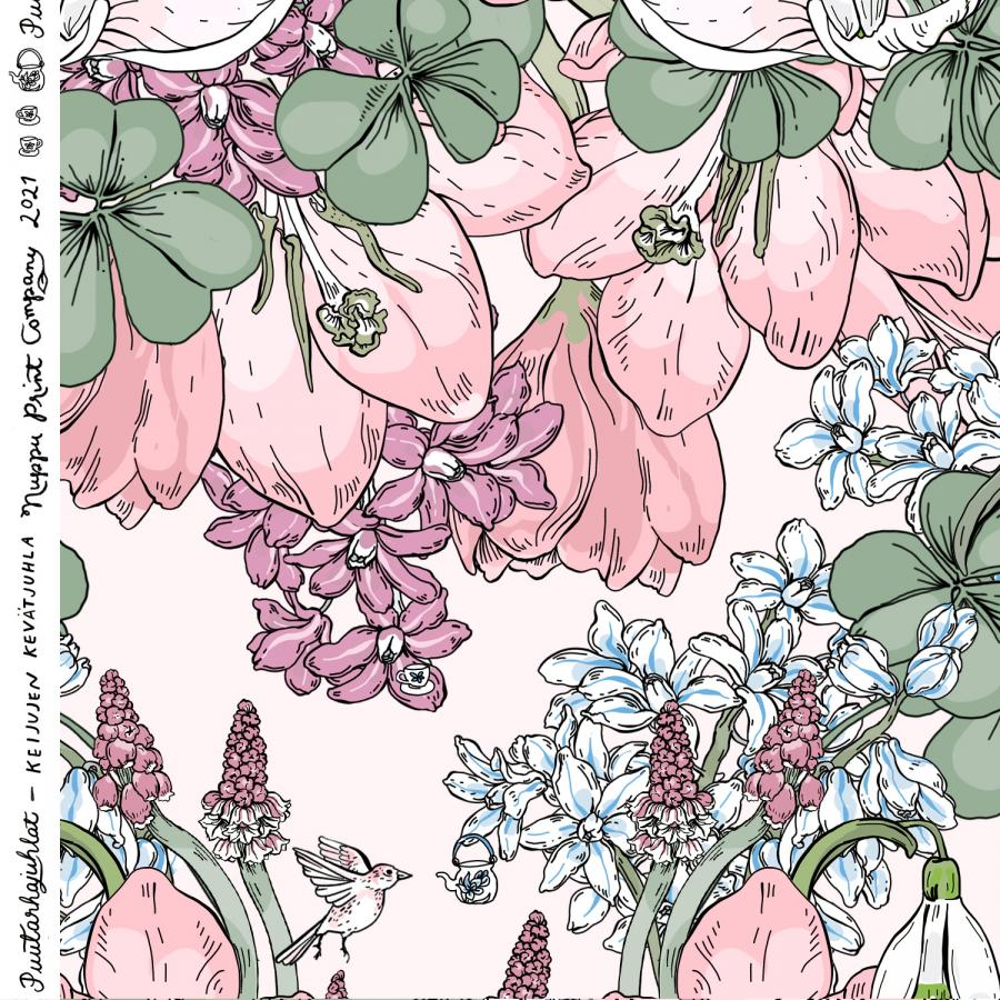 Keijujen kevätjuhla, luomutrikoo, nude