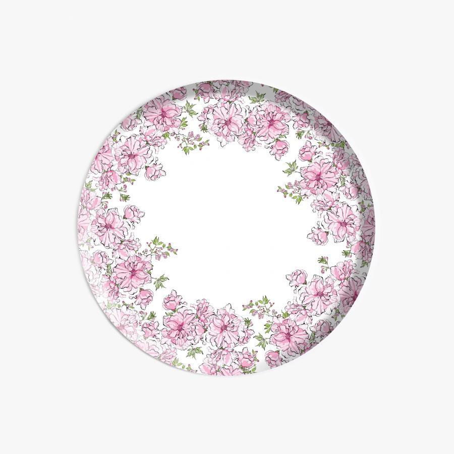 Kirsikkajuhla tarjotin, pyöreä