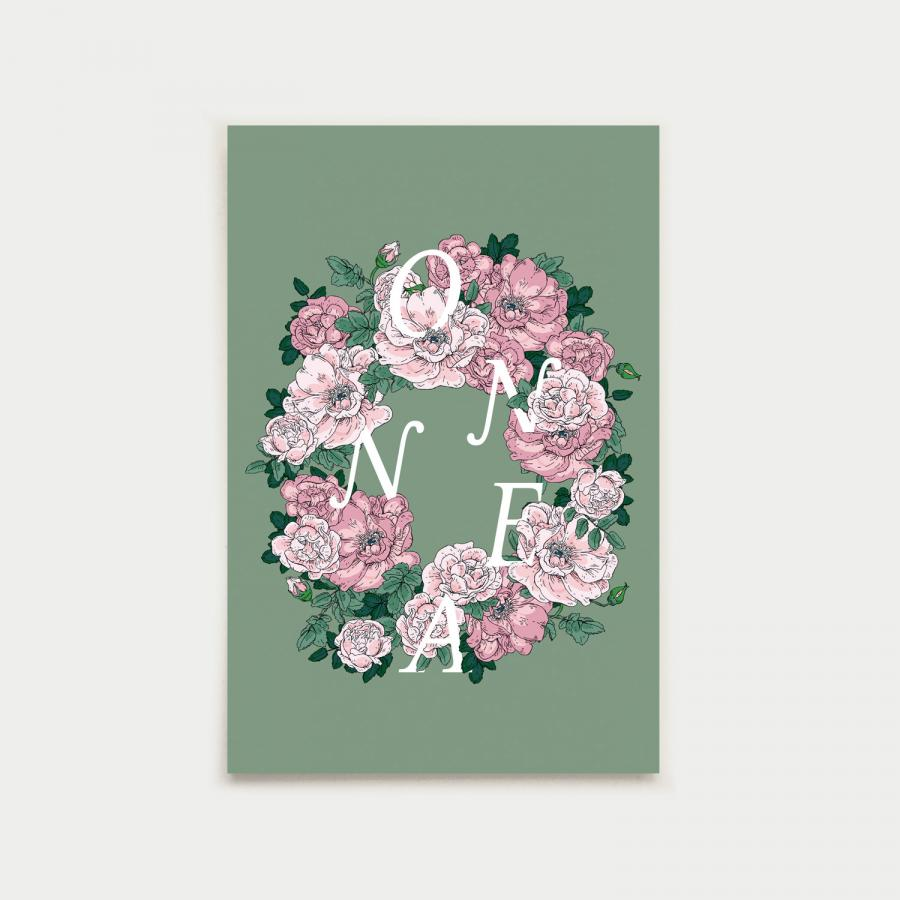 Ruususeppele postikortti, onnea
