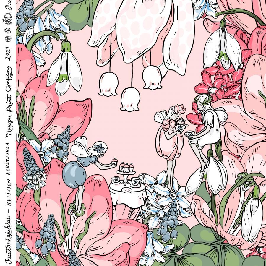 Keijujen kevätjuhla, luomutrikoo, sorbetti