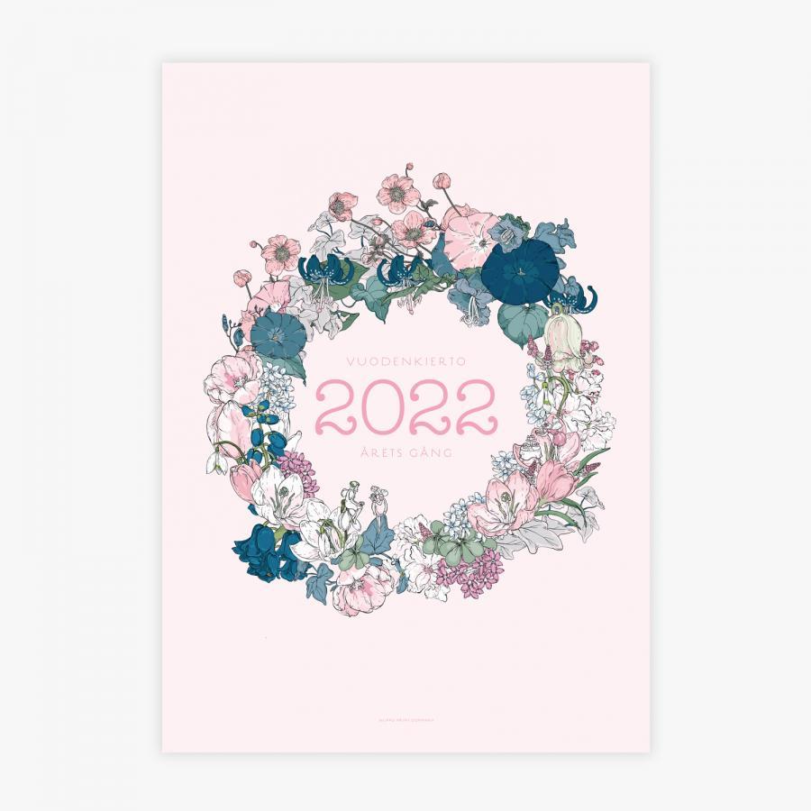Vuoden kierto -perhekalenteri 2022