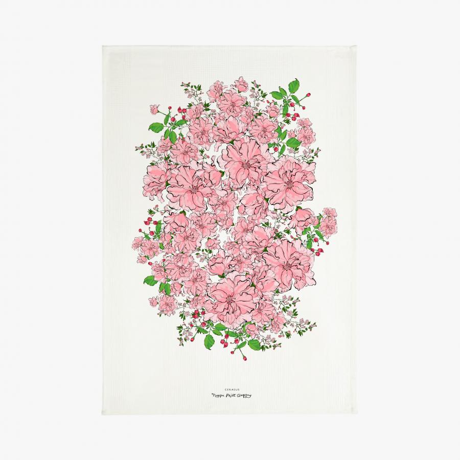 Kirsikkajuhla keittiöpyyhe