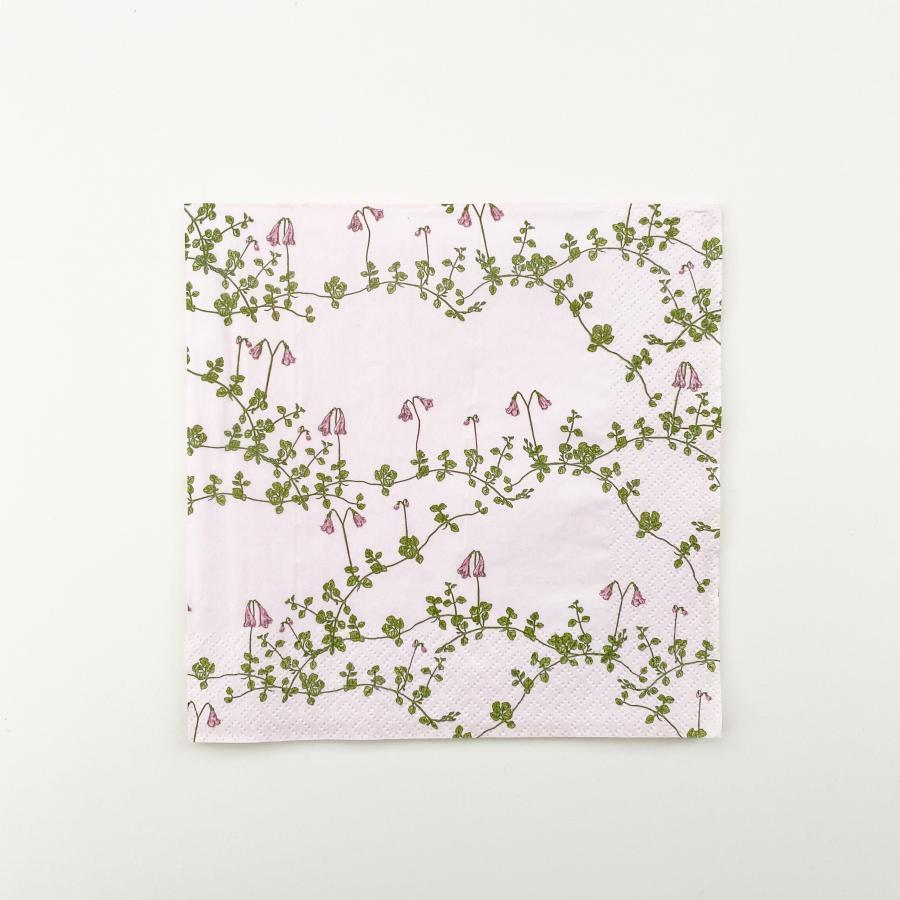 Vanamo lautasliina 33 cm, vaaleanpunainen