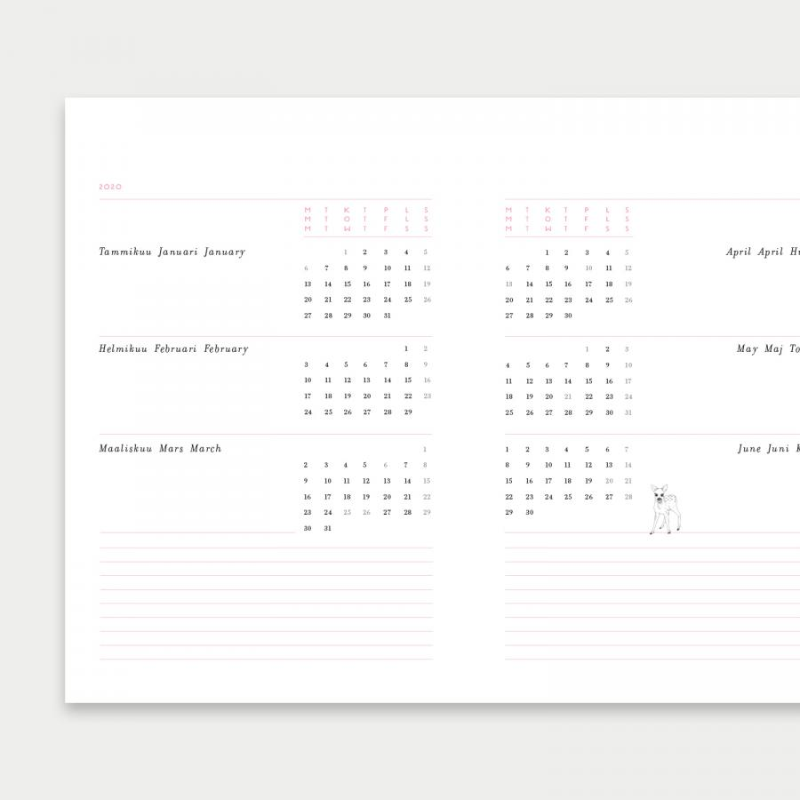 Sydäntalvi kalenteri 2021