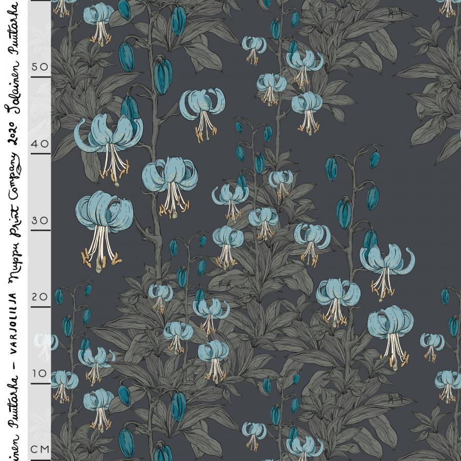 Varjolilja thick cotton canvas, Lumoan