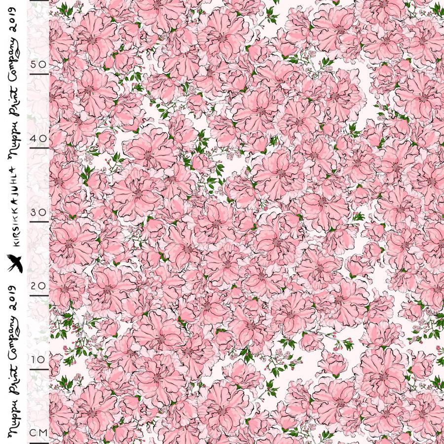 Kirsikkajuhla ohut puuvillasatiini, nude