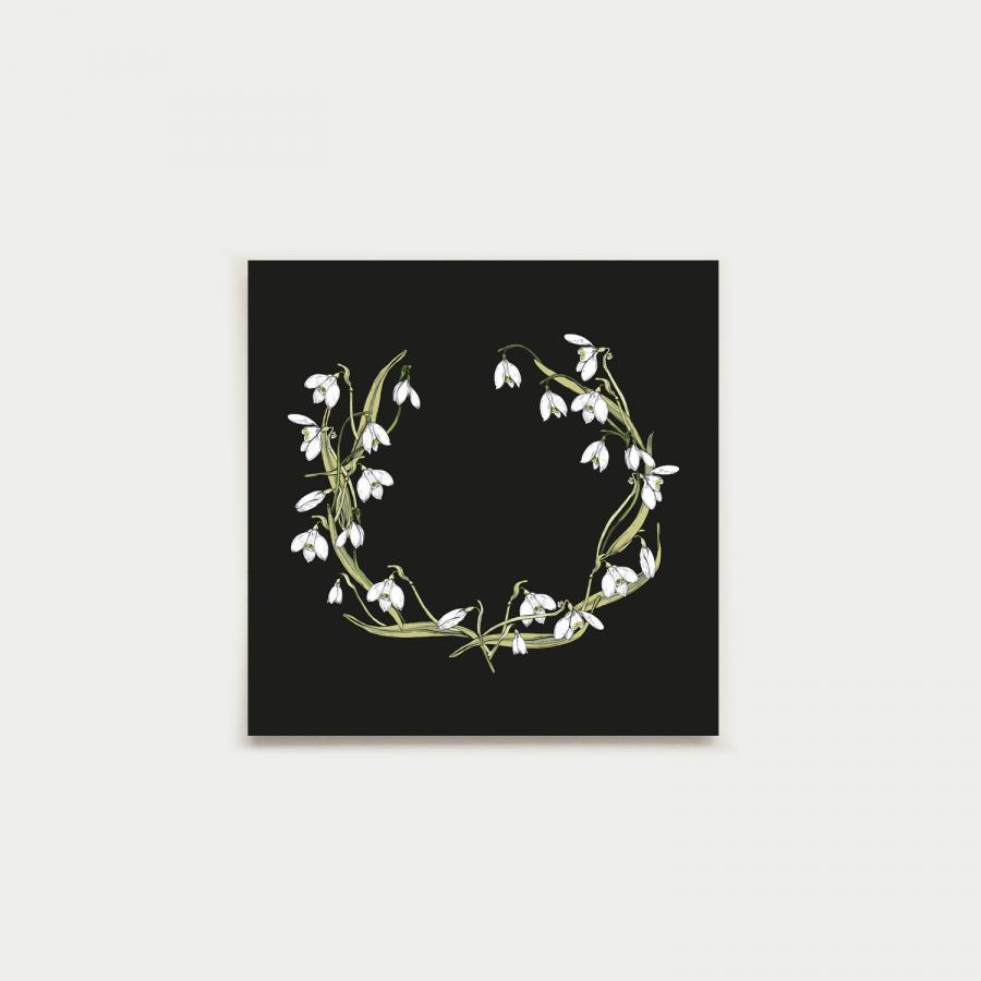 Kevätkruunu neliökortti, multa