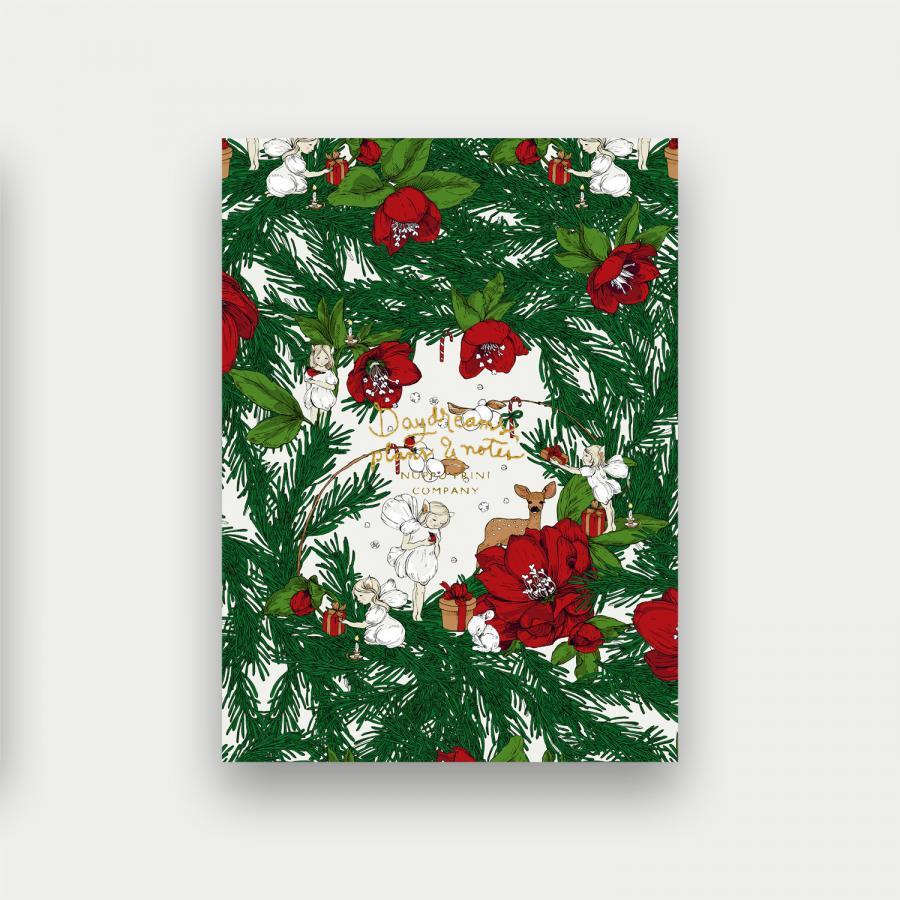 Joulusatu pikkuvihko, punainen
