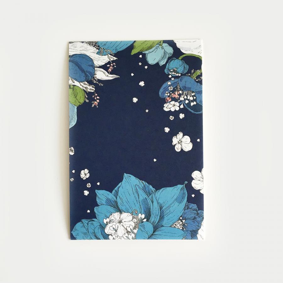 Sydäntalvi vykort, turquoise