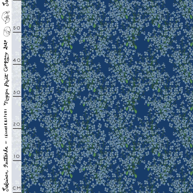 Lemmikkipeti luomutrikoo, sininen